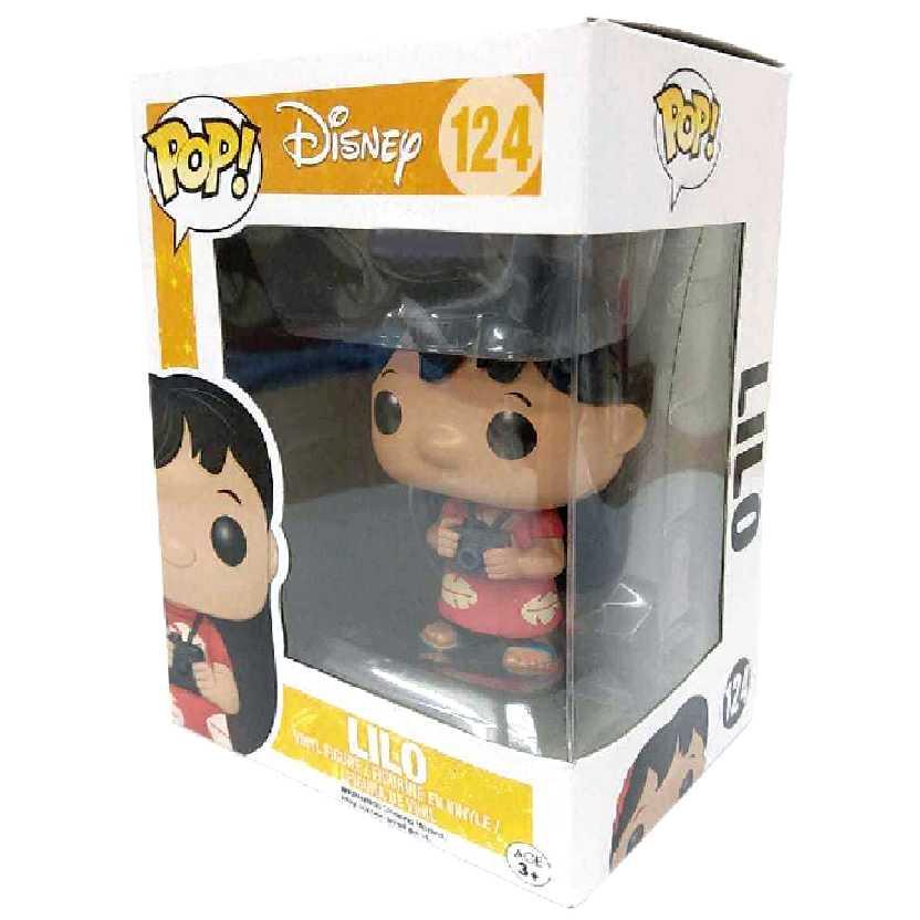 Funko Pop Disney Lilo vinyl figure número 124 comprar raridade no Brasil