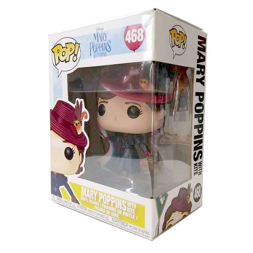 Funko Pop Disney Mary Poppins Returns + Kite vinyl figure número 468