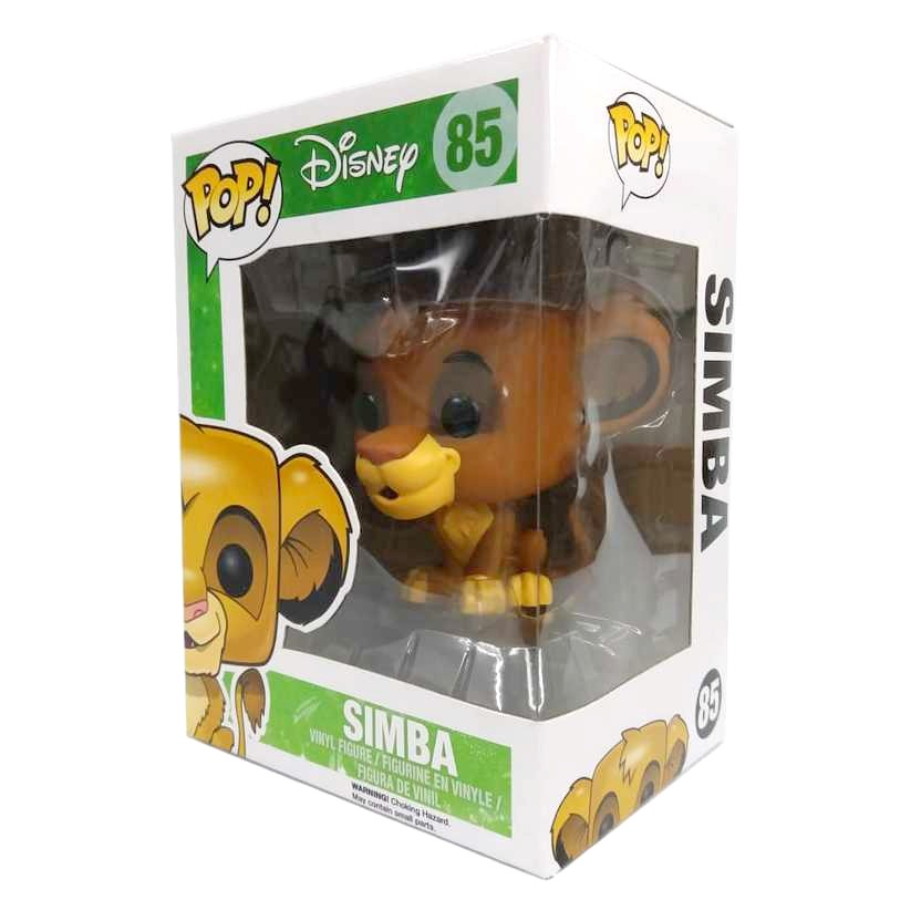Funko Pop Disney O Rei Leão The Lion King Simba vinyl figure número 85