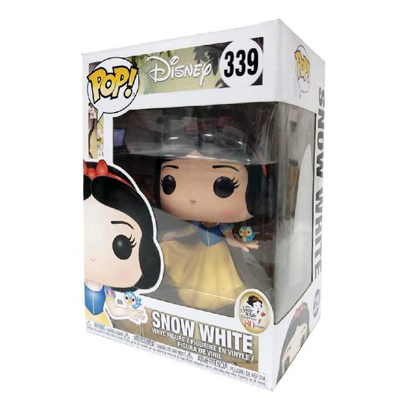 Funko Pop Disney Snow White Branca de Neve e os sete anões vinyl figure número 339 Novo