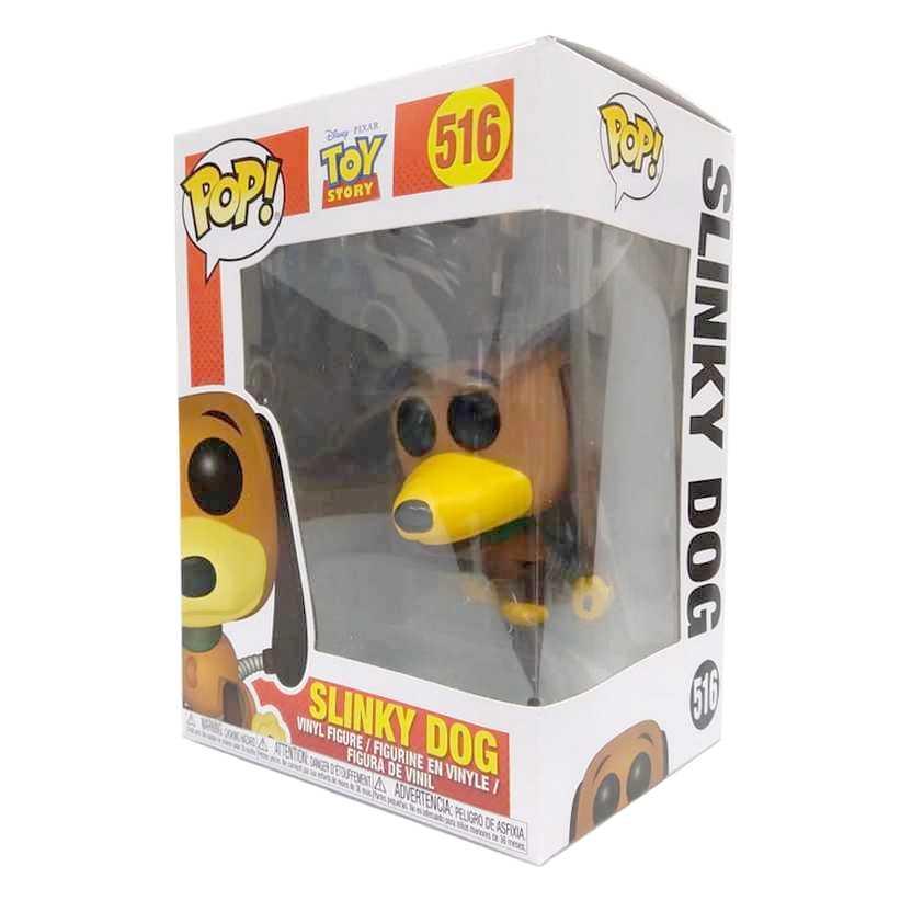 Funko Pop Disney Toy Story Slinky Dog vinyl figure número 516