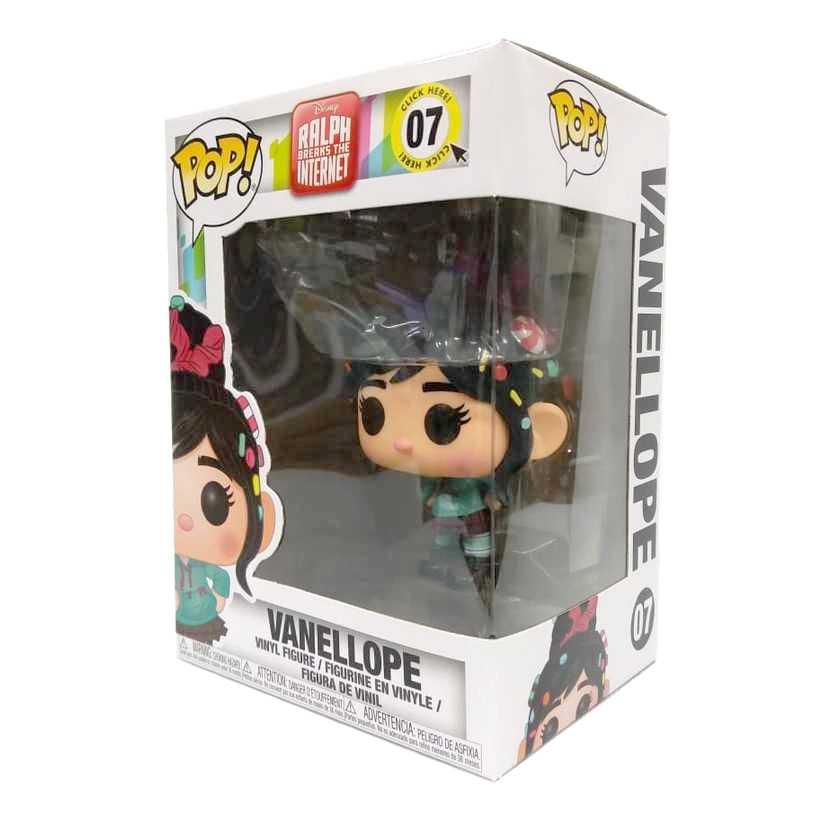 Funko Pop Disney Vanellope Detona Ralph Breaks The Internet número 07