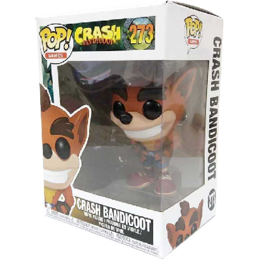 Funko Pop Games Crash Bandicoot vinyl figure número 273 Original