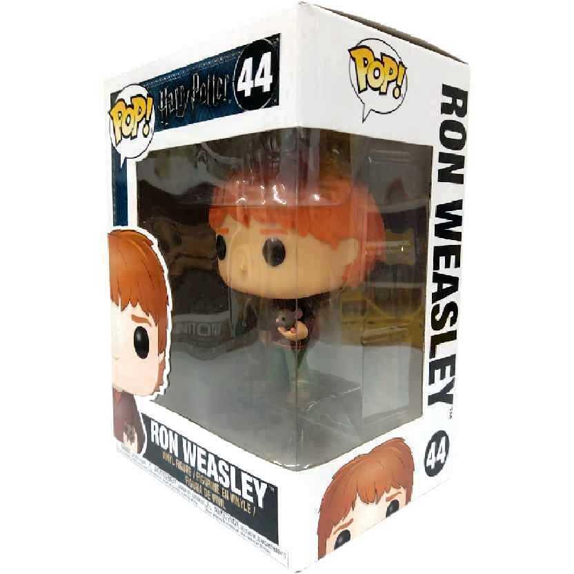 Funko Pop Harry Potter Ron Weasley + ratinho Scabbers Perebas figure número 44