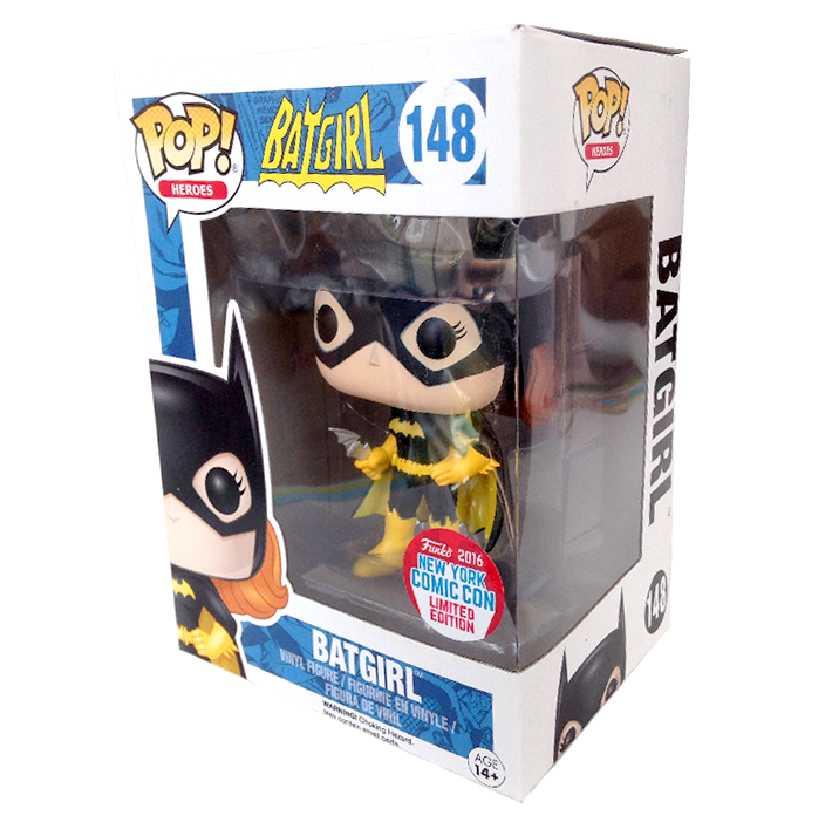 Funko Pop Heroes Batgirl uniforme preto NYCC New York Comic Con vinyl figure número 148