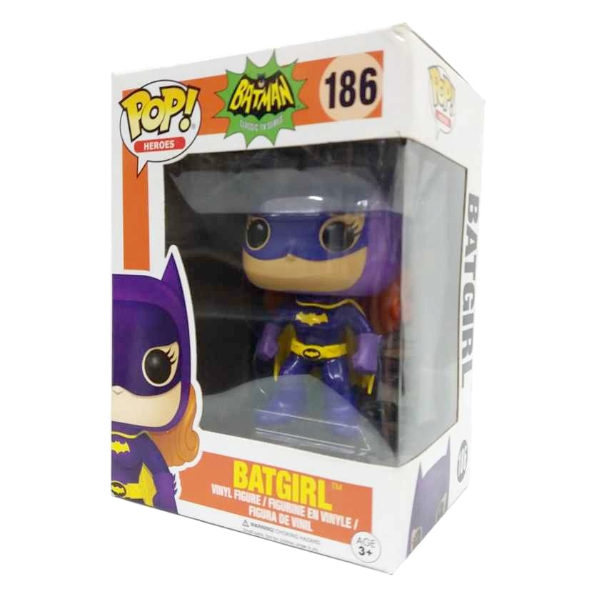 Funko Pop Heroes Batman Classic TV series Batgirl vinyl figure número 186