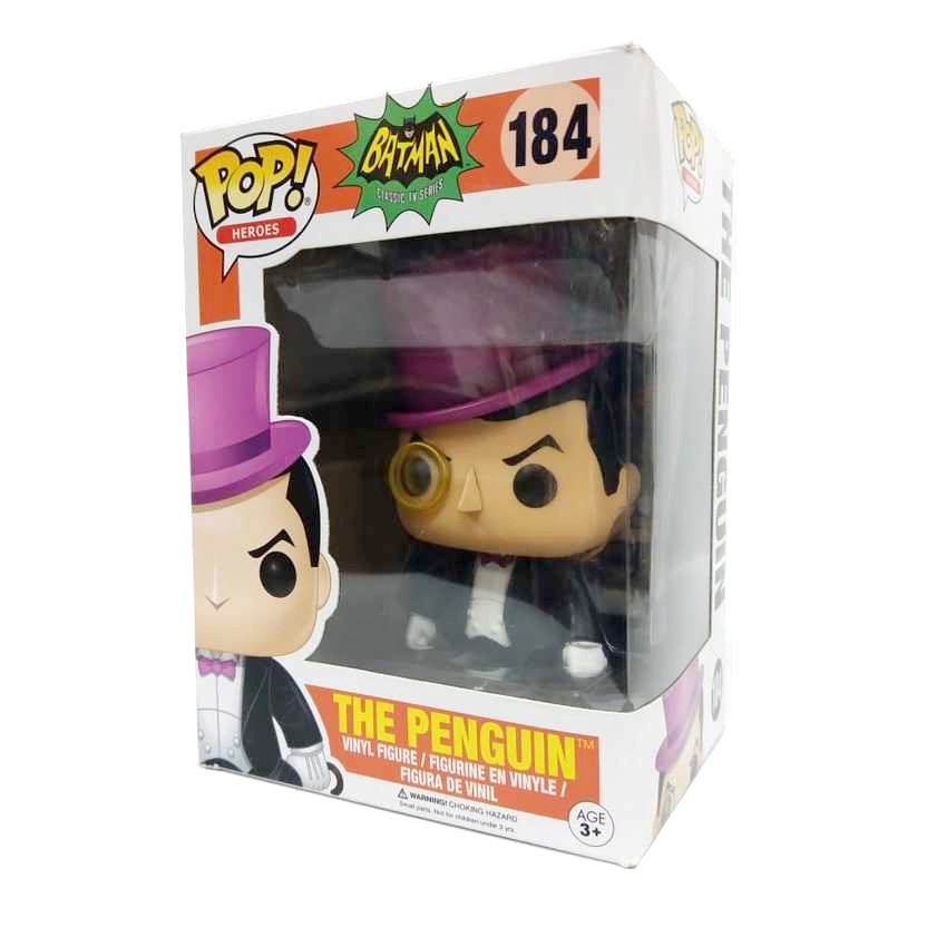 Funko Pop Heroes Batman Classic TV series The Penguin vinyl figure número 184