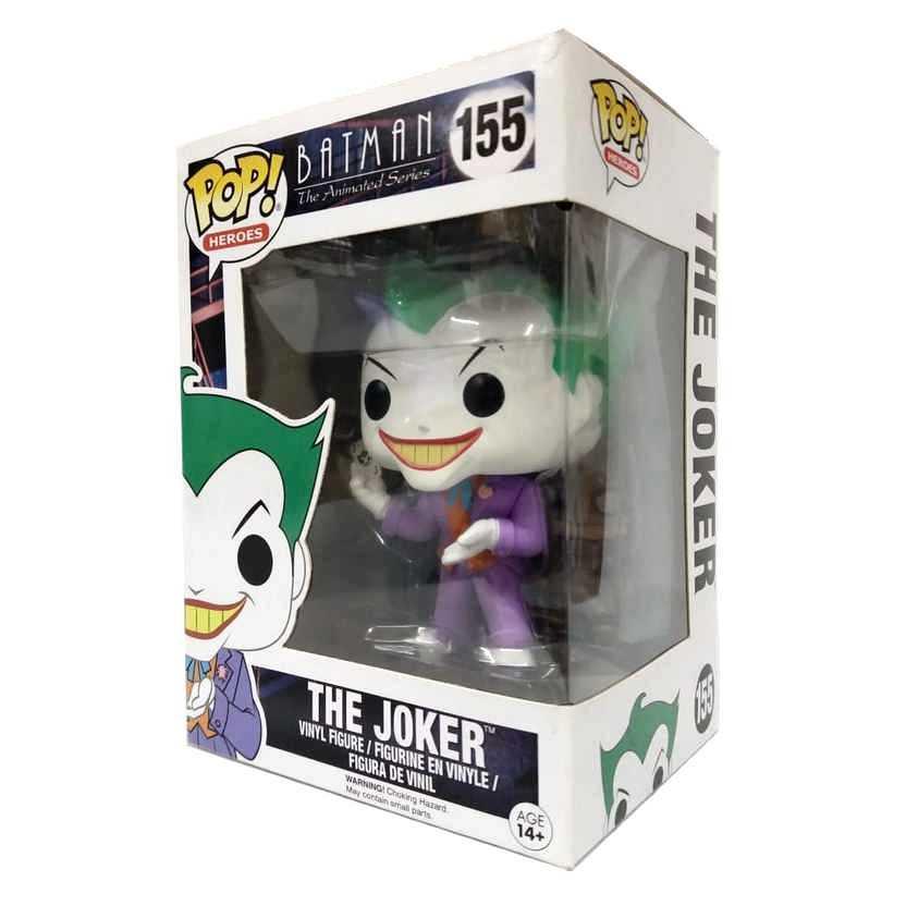Funko Pop Heroes Batman The Animated series The Joker Coringa #155