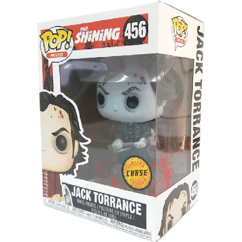 Funko Pop Jack Torrance Chase The Shining O Iluminado vinyl figure número 456