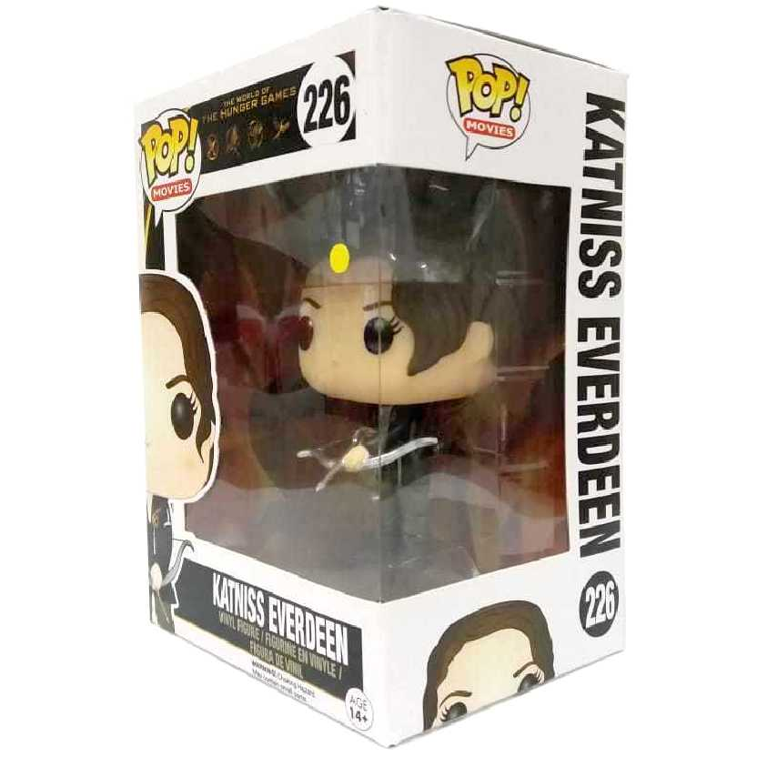 Funko Pop Jogos Vorazes Katniss Everdeen (The Hunger Games vinyl) número 226 Original