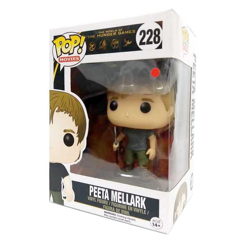 Funko Pop Jogos Vorazes Peeta Mellark The Hunger Games vinyl figure número 228