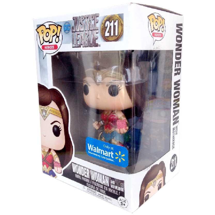 Funko Pop Liga da Justiça Mulher Maravilha Justice League Wonder Woman vinyl figure #211