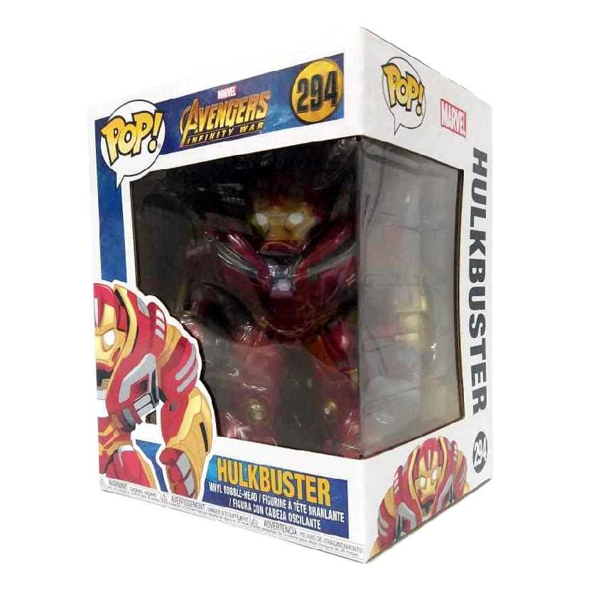 Funko Pop Marvel Avengers Infinity War Hulkbuster vinyl figure número 294