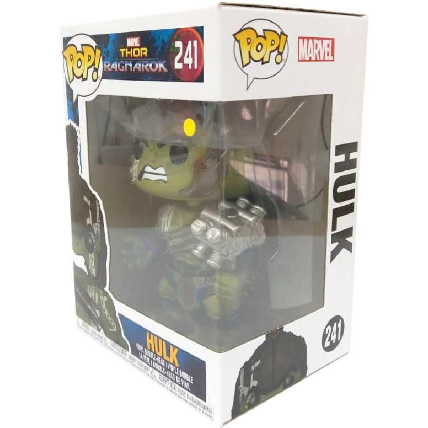 Funko Pop Marvel Thor Ragnarok Gladiator Hulk vinyl figure número 241