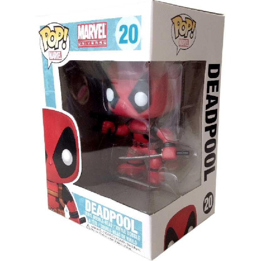 Funko Pop Marvel Universe Deadpool num. 20 Vinyl figure Novo
