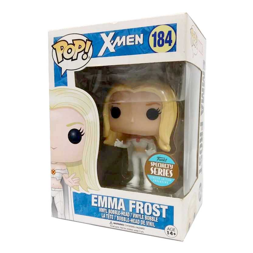 Funko Pop Marvel X-Men Emma Frost Specialty Series vinyl figure número 184