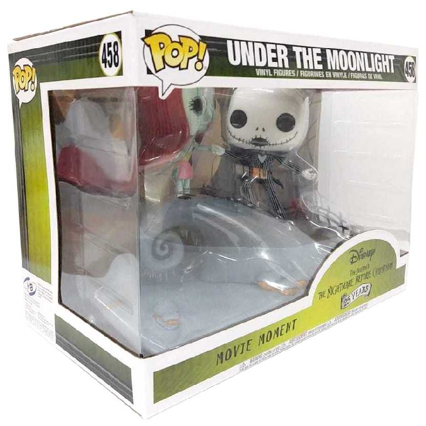 Funko Pop Movie Moment Jack Skellington + Sally (Under The Moonlight) vinyl figure número 458