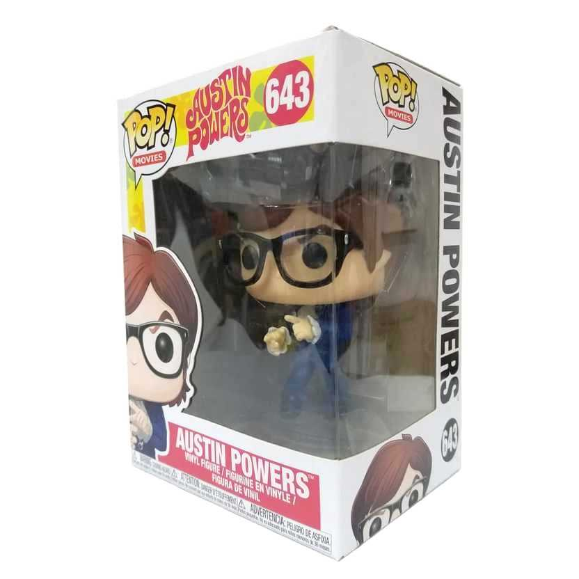 Funko Pop Movies Austin Powers azul vinyl figure número 643