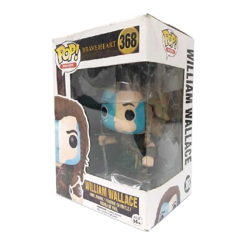 Funko Pop Movies Braveheart (Coração Valente) William Wallace (Mel Gibson) #368 CAIXA AMASSADA
