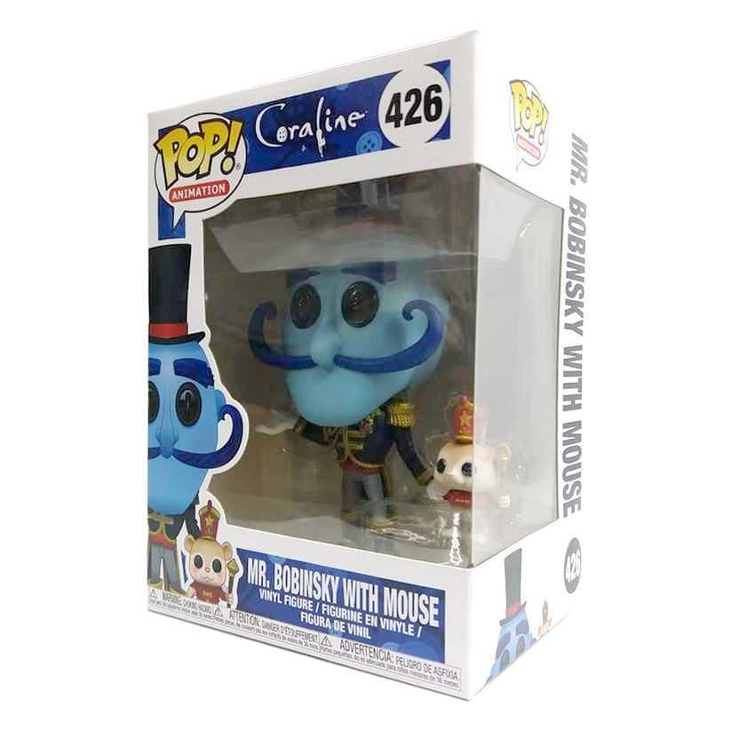 Funko Pop Movies Coraline Mr. Bobinsky with Mouse vinyl figure número 426