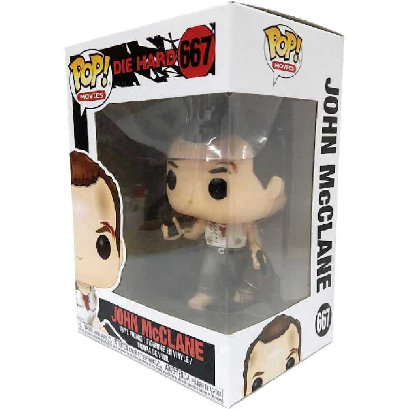 Funko Pop Movies Duro de Matar Die Hard John McClane (Bruce Willis) número 667