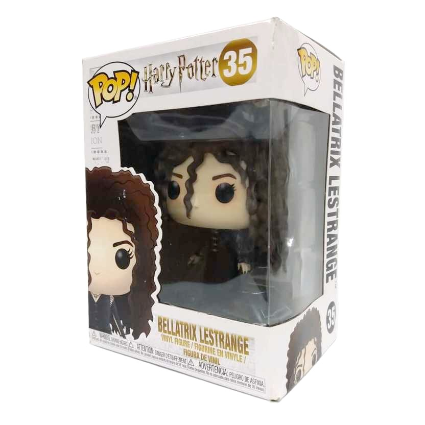 Funko Pop Movies Harry Potter Bellatrix Lestrange vinyl figure número 35