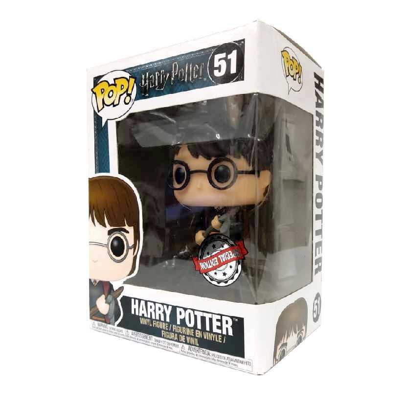 Funko Pop Movies Harry Potter with FIREBOLT vinyl figure número 51