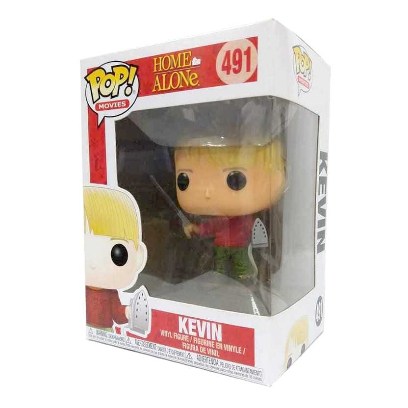 Funko Pop Movies Home Alone Esqueceram de Mim Kevin McCallister vinyl figure número 491