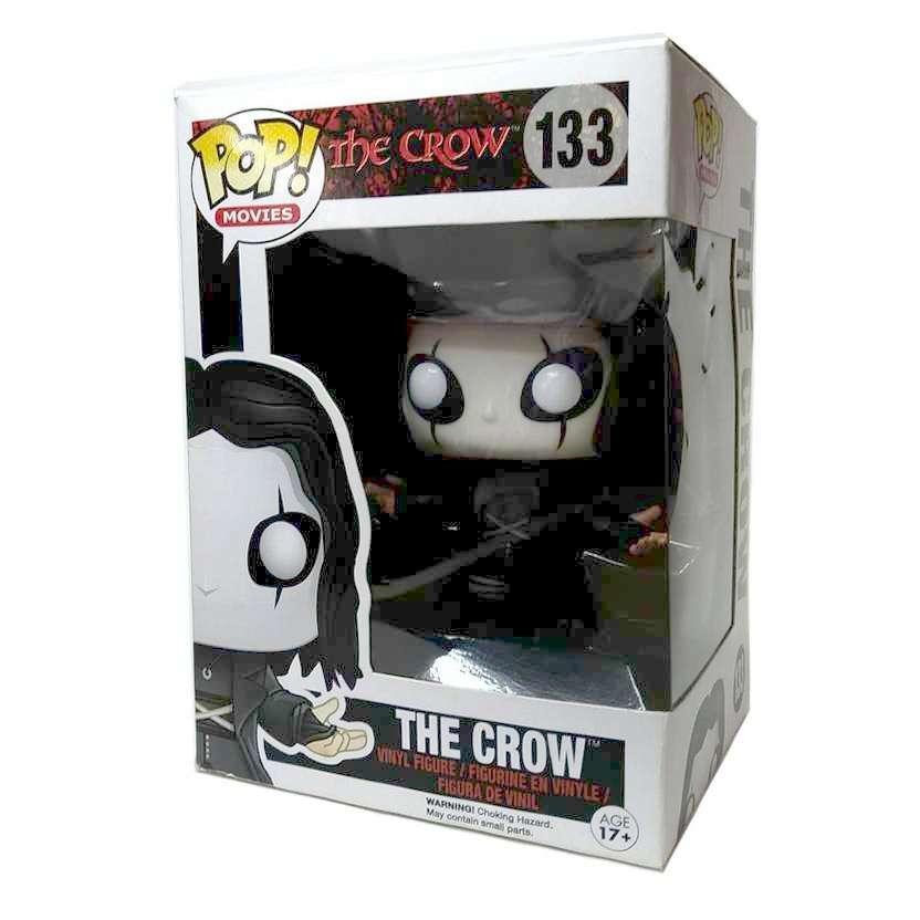 Funko Pop Movies O Corvo The Crow vinyl figure número 133 comprar barato no Brasil Vaulted