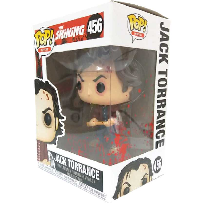 Funko Pop Movies O Iluminado The Shining Jack Torrance vinyl figure número 456