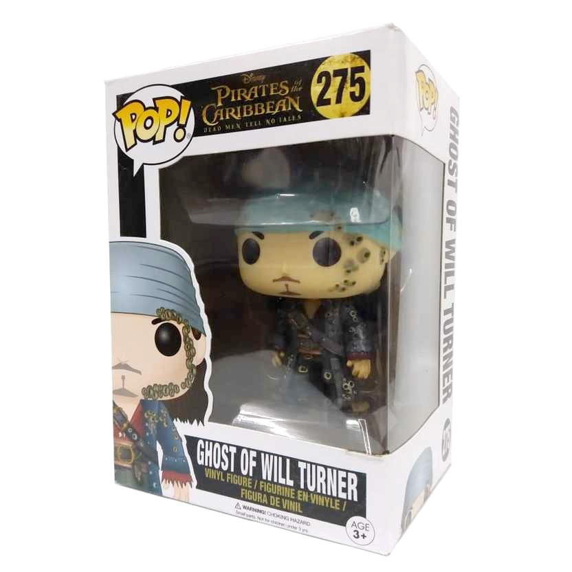 Funko Pop Movies Pirates of Caribean Will Turner vinyl figure número 275