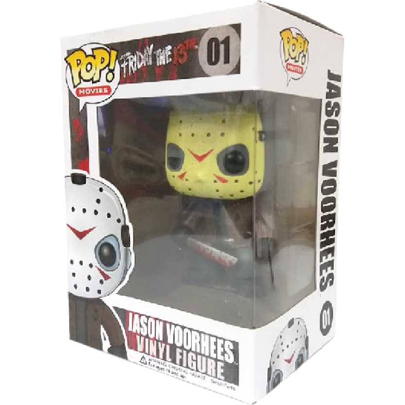 Funko Pop Movies Sexta Feira 13 Friday The 13Th Jason Voorhees vinyl figure número 01