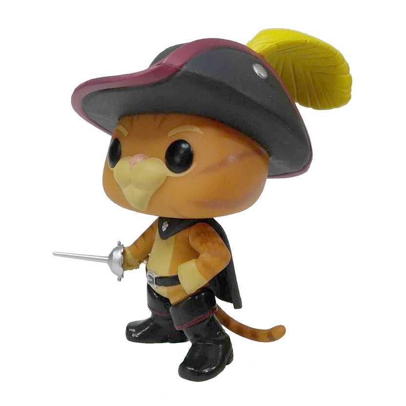 Funko Pop Movies Shrek Gato de Botas (Puss In Boots) #280 LOOSE SEM CAIXA