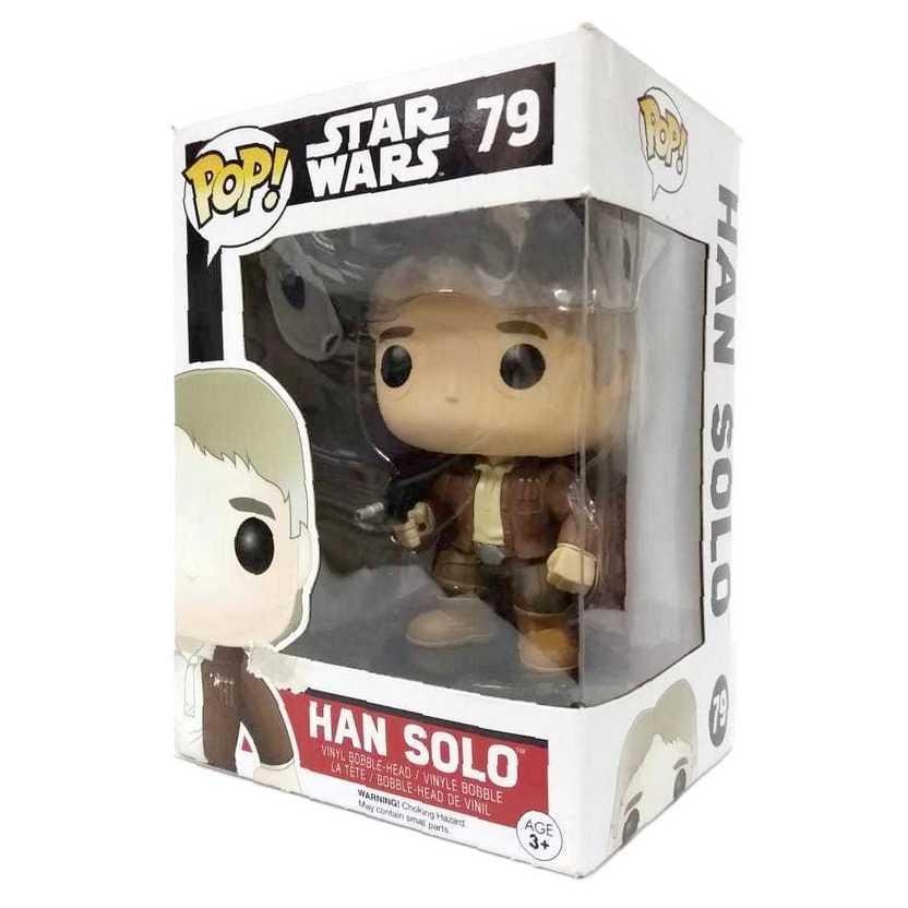 Funko Pop Movies Star Wars Han Solo vinyl figure número 79