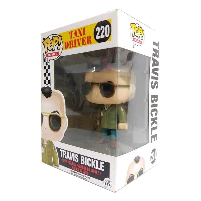 Funko Pop Movies Taxi Driver Travis Bickle vinyl figure número 220 Vaulted