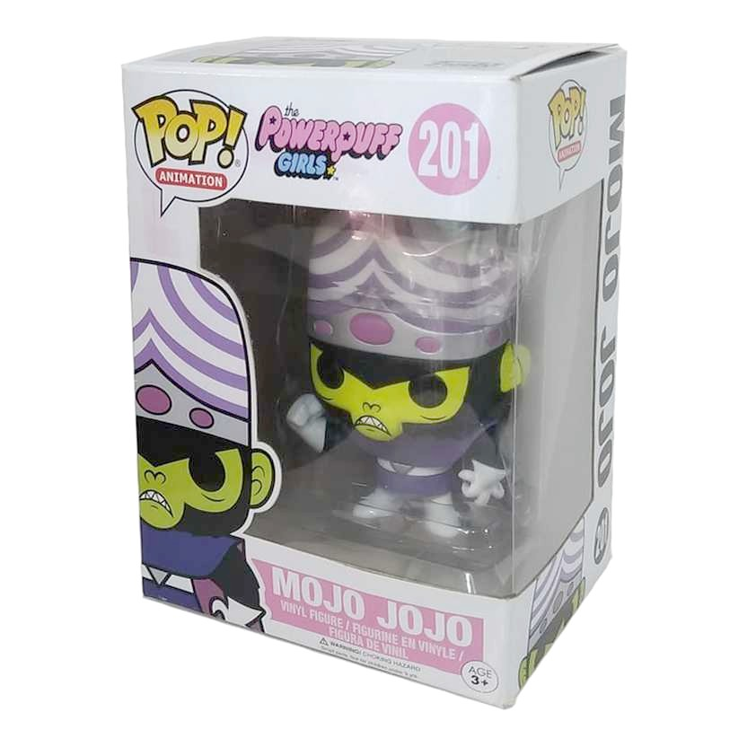 Funko Pop Powerpuff Girls Mojo Jojo Meninas Super Poderosas Macaco Louco número 201