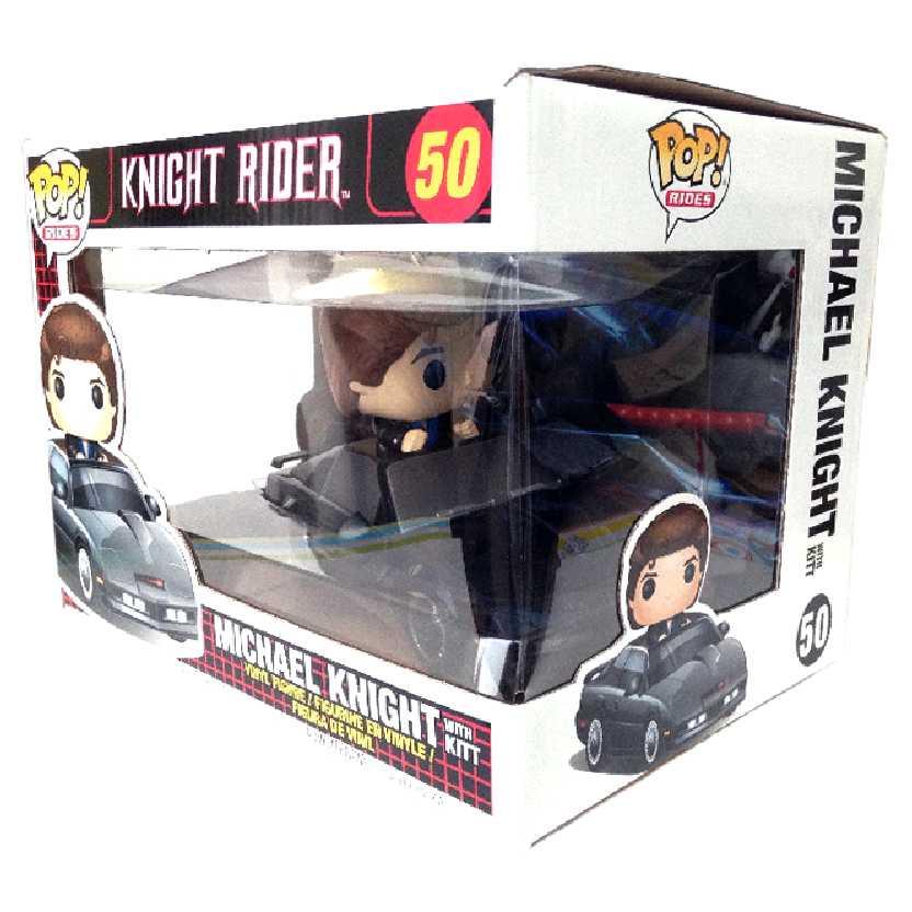 Funko Pop Rides Super Máquina Michael Knight + KITT (Knight Rider) vinyl figure #50