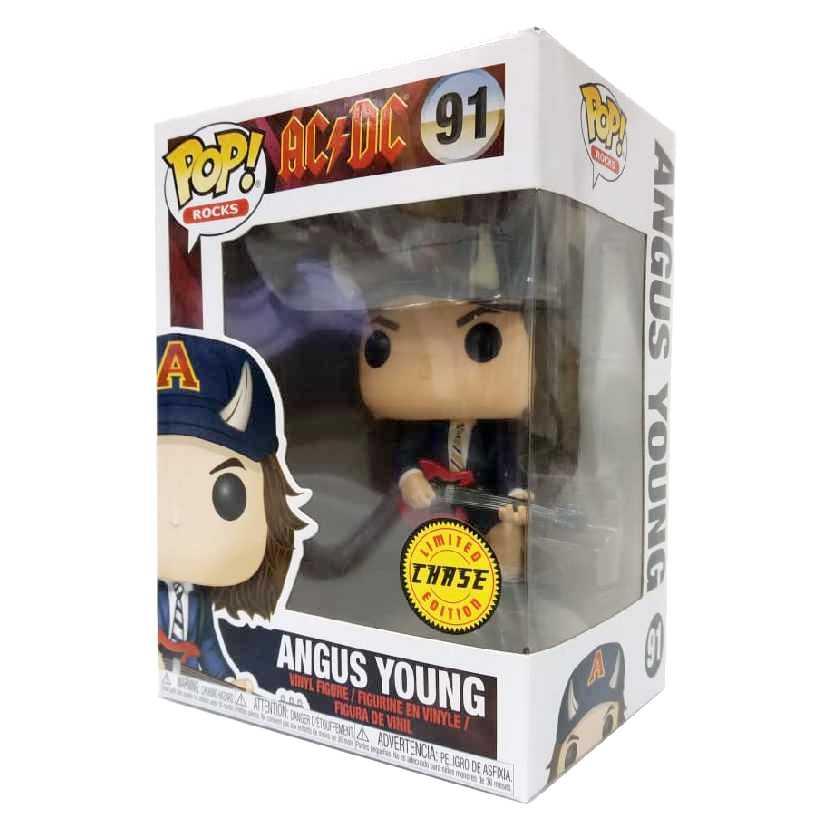 Funko Pop Rocks AC/DC Angus Young CHASE vinyl figure número 91