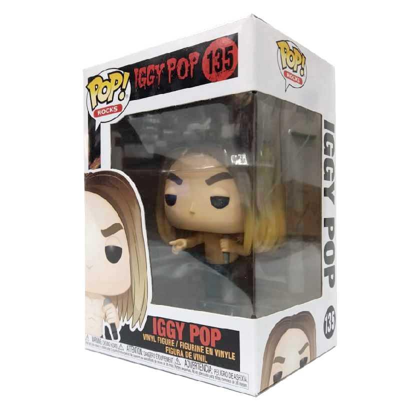 Funko Pop Rocks Iggy Pop vinyl figure número 135