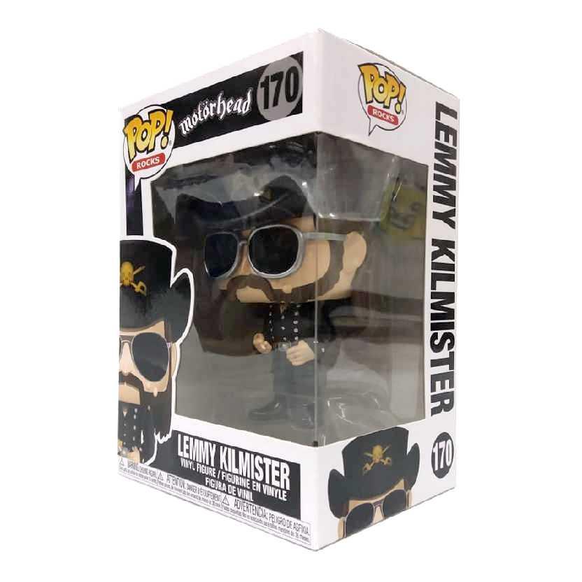 Funko Pop Rocks Motorhead Lemmy Kilmister vinyl figure número 170