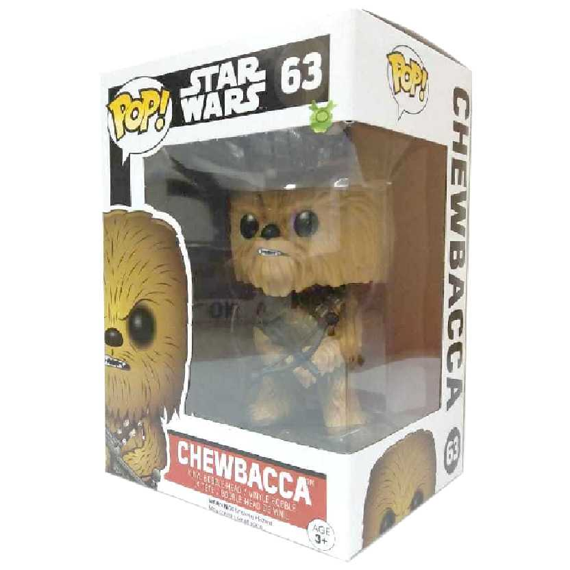 Funko Pop Star Wars O Despertar da Força Chewbacca Episode 7 The Force Awakens #63