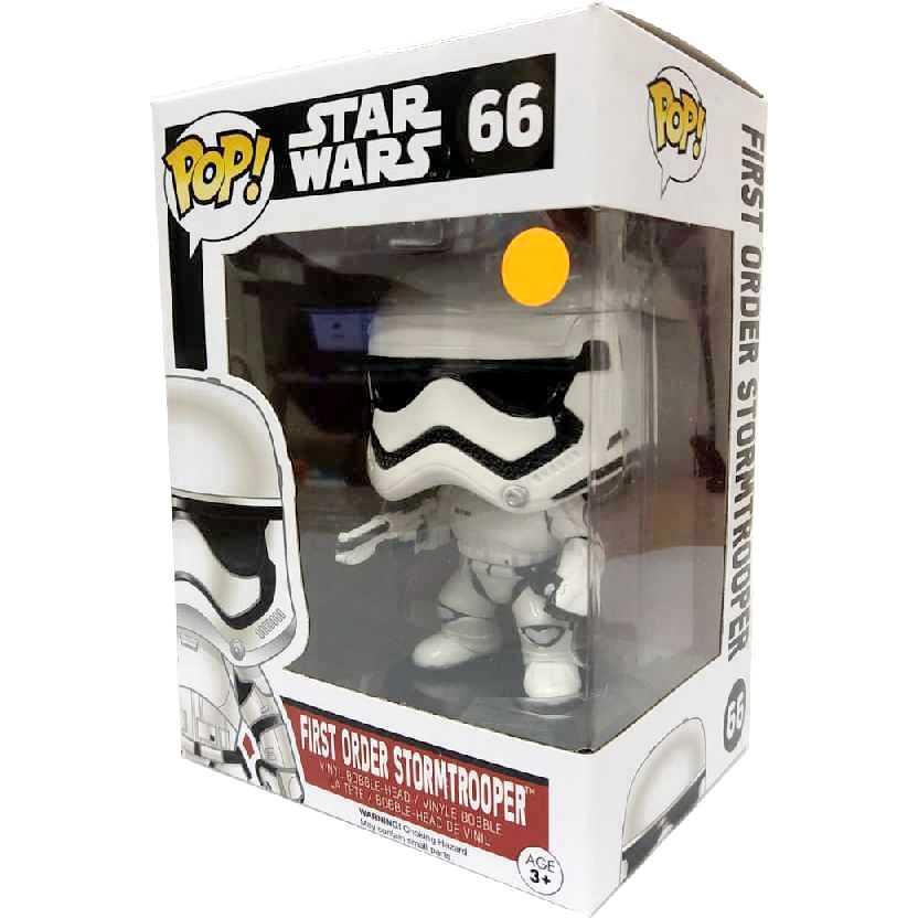 Funko Pop Star Wars O Despertar da Força Stormtrooper Episode 7 The Force Awakens