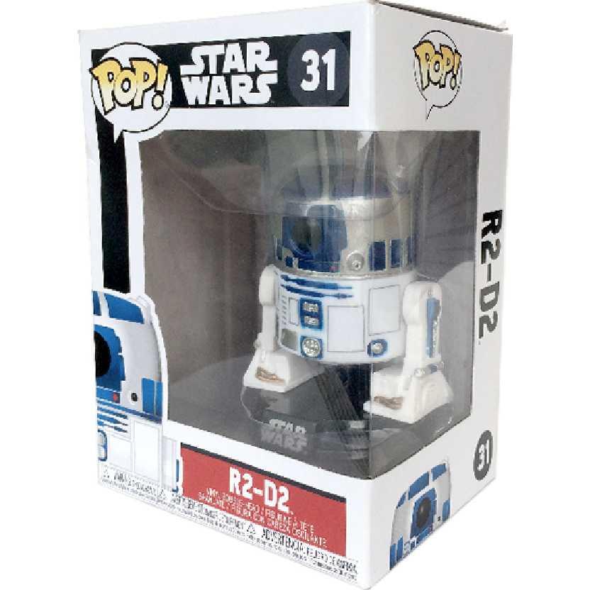 Funko Pop Star Wars R2-D2 caixa nova vinyl figure número 31
