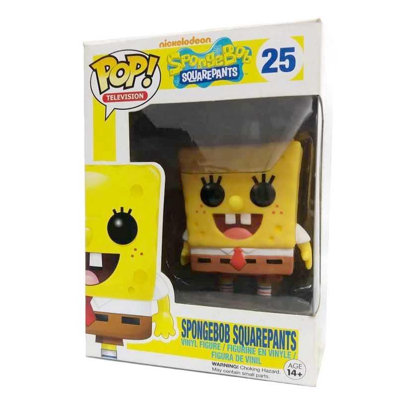 Funko Pop Television Bob Esponja calça quadrada Spongebob Squarepants #25