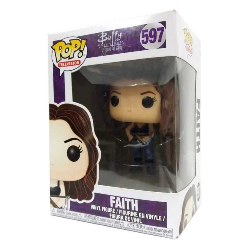 Funko Pop Television Faith Buffy The Vampire Slayer vinyl figure número 597