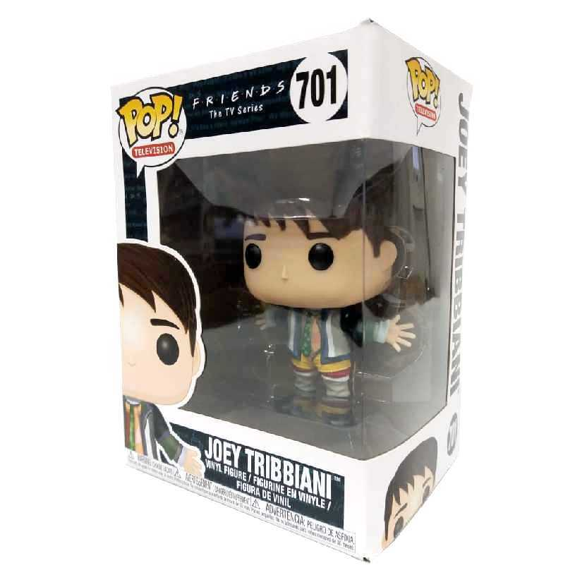 Funko Pop Television Friends Joey Tribbiani wave 2 vinyl figure número 701 Raridade