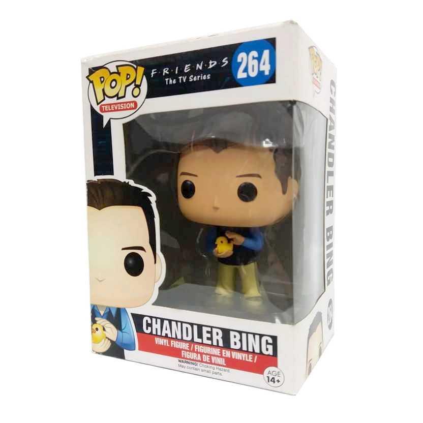 Funko Pop Television Friends The TV series 1 Chandler Bing #264 Vaulted Raro