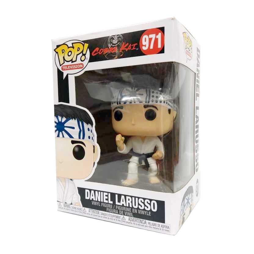 Funko Pop Television Karate Kid Cobra Kai Daniel Larusso vinyl figure número 971