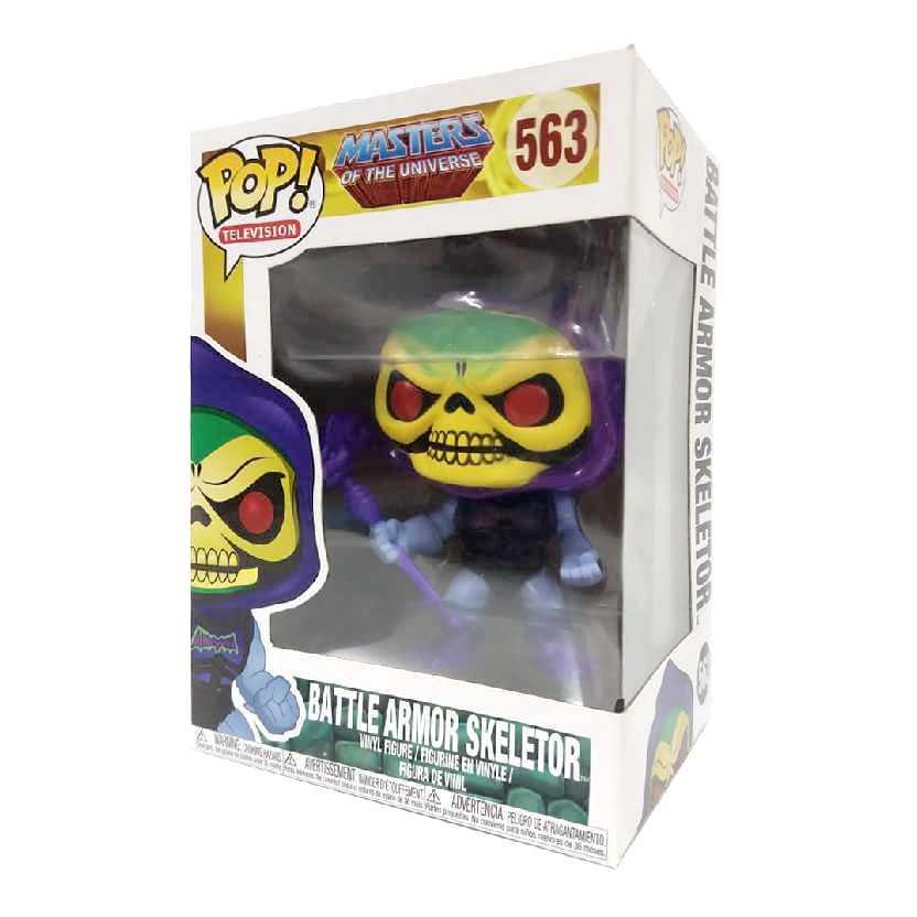 Funko Pop Television Master of Universe Batle Armor Skeletor Esqueleto (He-Man) #563