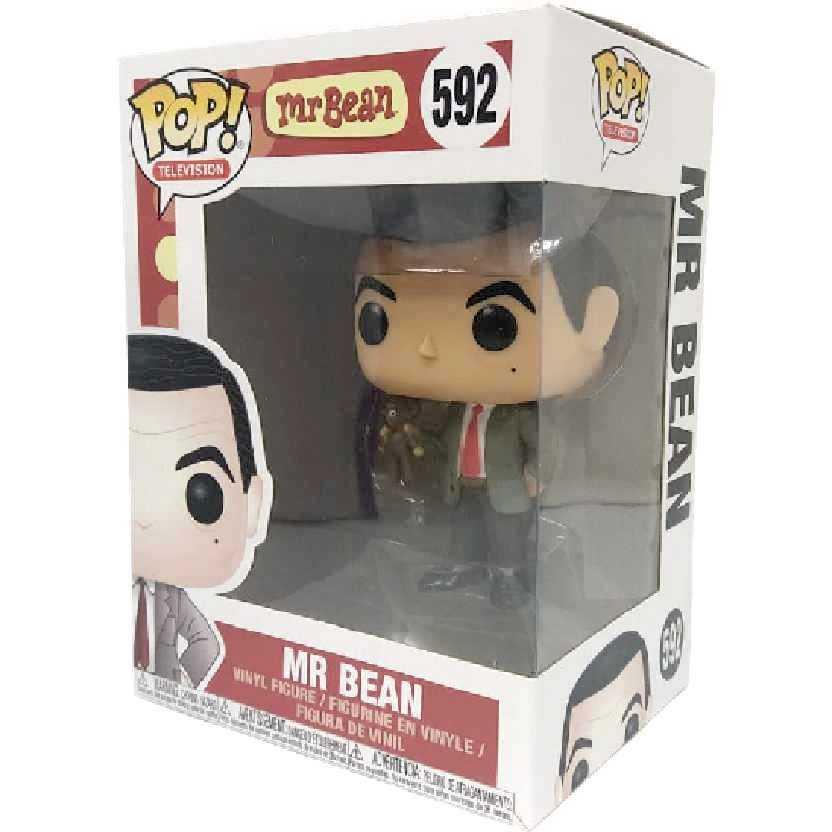 Funko Pop Television Mr Mister Bean vinyl figure número 592